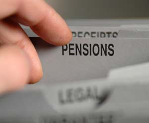 pensions cost
